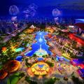 成都万达城 建筑规划 万达主题乐园