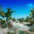 清凤海棠长滩 景观园林