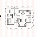 锦绣一号110平米四房精装修赠送30% 四居 110㎡ 户型图