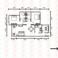 锦绣一号85平米3房精装修赠送30% 三居 85㎡ 户型图