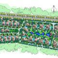 海的理想 建筑规划 别墅区分布图