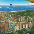 清水湾碧桂园珊瑚宫殿 建筑规划 鸟瞰图