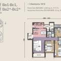 马来西亚雅居乐满家乐 三居  户型图