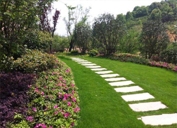 庭院景观-样板区台阶景观