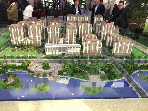 京津青年新城项目沙盘 京津青年新城建筑规划图片