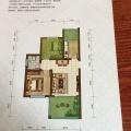 金兰凤凰国际一室一厅可改2室一厅 两居 62㎡ 户型图