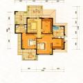 梵石壹鼎院地上二层 一居  户型图