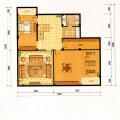 梵石壹鼎院地下一层 一居  户型图