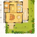 梵石壹鼎院地上一层 一居  户型图