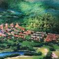 绿城龙王溪 景观园林