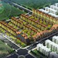 涿州码头京畔健康城 建筑规划 一期整体鸟瞰图