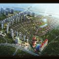 惠州碧桂园翡翠山 建筑规划 项目鸟瞰图
