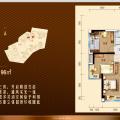惠州碧桂园翡翠山5房2厅2卫 五居 147平米㎡ 户型图