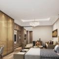 横琴  中冶盛世国际广场 样板间 3.5米层高户型客厅