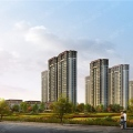 长江熙岸孔雀城 一居  户型图