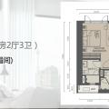 吉隆坡雅居乐天汇吉隆坡雅居乐天汇公寓3房2厅3卫 105 三居  户型图