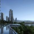 俊发西双版纳滨江俊园 建筑规划 项目外立面设计图