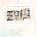 俊发西双版纳滨江俊园F6户型三室 三居 113.79㎡㎡ 户型图