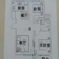 霸州胜堂高铁城霸州胜堂高铁城 两居 78平米㎡ 户型图