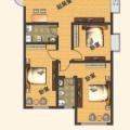 杭海盛都 三居  户型图