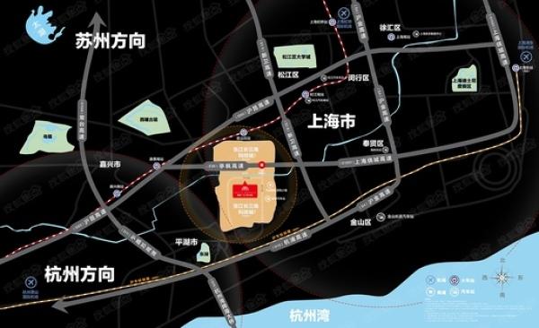 《今日推荐》平湖新埭-首个跨省张江高科科技产业园将图片