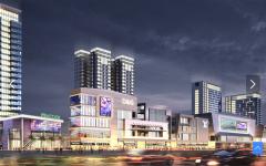 兰州新区大学城紫金商贸中心