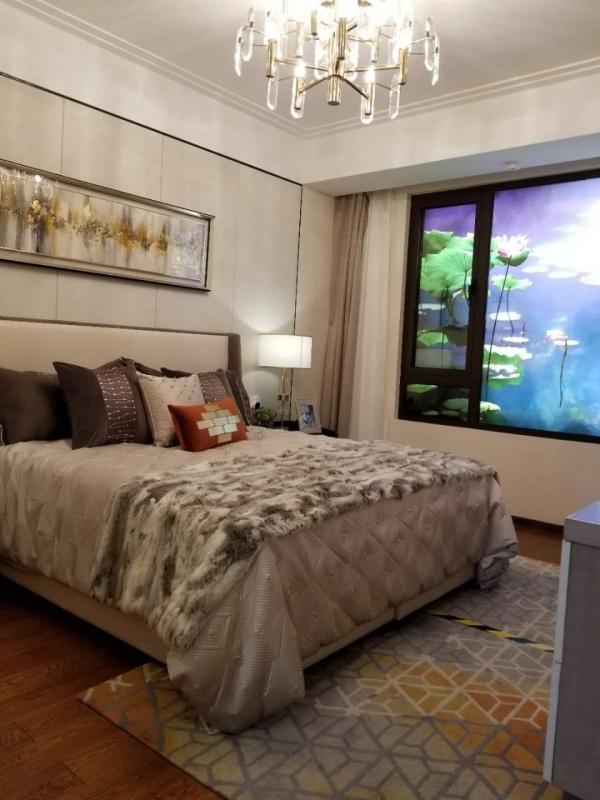 背景墻 房間 家居 起居室 設計 臥室 臥室裝修 現代 裝修 600_800 豎
