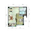 海城广场百变一居室 一居 67.1㎡ 户型图