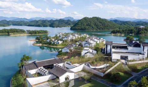 千岛湖 云水江南 中式合院别墅
