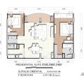 Supalai Oriental Sukhumvit 39 / 曼谷东方国际公寓 一居  户型图