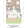 Supalai Oriental Sukhumvit 39 / 曼谷东方国际公寓 三居 191㎡ 户型图