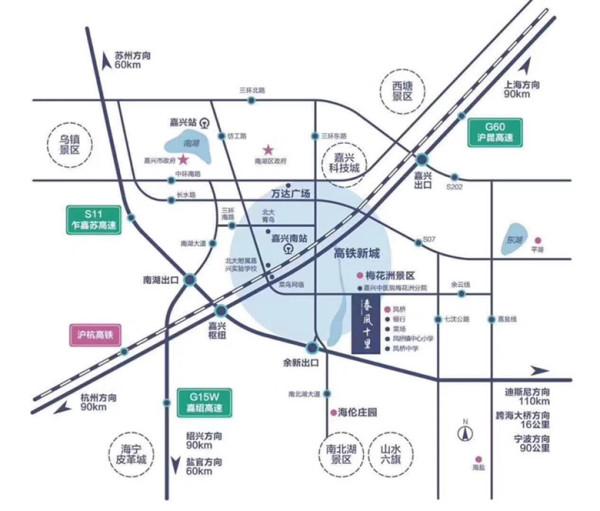 嘉兴梅花洲景区 绿城春风十里 将呈现最佳小区【官网】