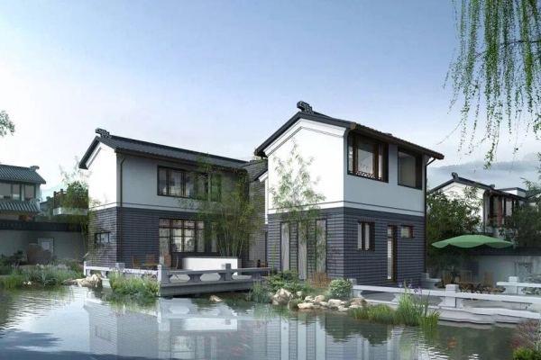 产品类型:纯独栋中式风格别墅 产品面积:310平-330平 花园面积:300图片