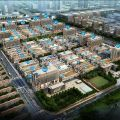 白沟《隆基泰和京白世贸城》 景观园林 楼栋图