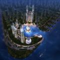 碧桂园森林城市 建筑规划 森林城市海上CBD