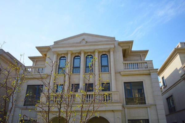 总价:495万起建筑材质;刚挂大理石外立面,欧式风格.