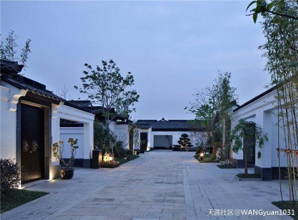 千岛湖姜家镇【云水江南】中式合院别墅,送花园露台70