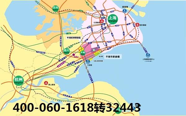 位处杭州湾北岸,东与上海市金山区钱圩镇接壤,南接嘉兴