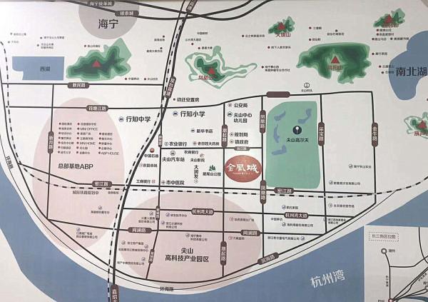 凤城河风景区地图