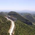 峡谷霏月 景观园林 峡谷霏月远景图