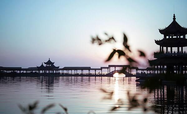 旅游名点:南通十大景点之一,香光寺.