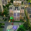 孔雀城文创园空港一号街区公寓 建筑规划