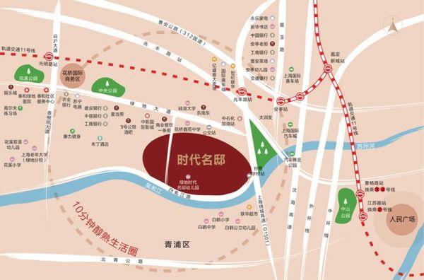 2018青浦稀缺资源——白鹤镇绿地时代名邸强势来袭,项目地址,图文解析