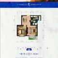 竹园温泉小镇精致玲珑小户型 一居 67.44㎡ 户型图