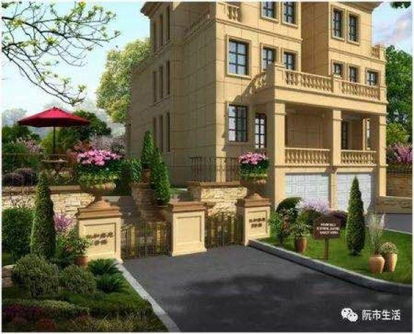 首开双拼别墅 建筑风格:欧式奢华别墅 总占地面积:40亩 总建筑面积