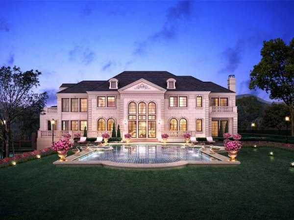 交付时间:2018年底; 建筑风格:欧式城堡庄园; 产权年限:70年(江景别墅