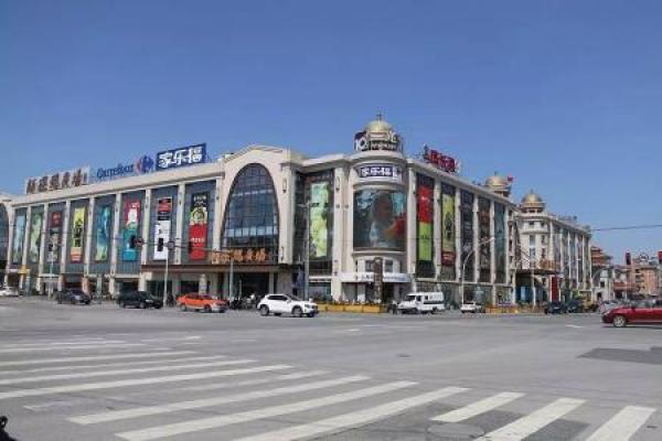 开元地中海广场--平高世贸中心--松江商城--中山广场--骏龙广场等.