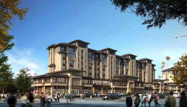 4,建筑价值:白沟首席新中式豪宅,板楼,户户南北通透.