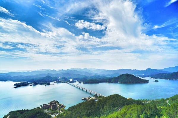 千岛湖天屿观景台徒步