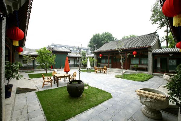 安吉龙山庄园售楼中心——最美的院落,是儿时的小院